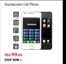 Touchscreen Cell Phone