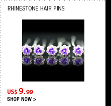 Rhinestone Hair Pins