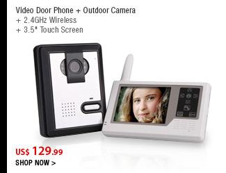 Video Door Phone + Outdoor Camera