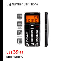 Big Number Bar Phone