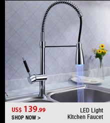 LED Light Kitchen Faucet