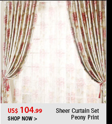 Sheer Curtain Set