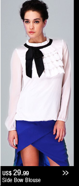 Side Bow Blouse