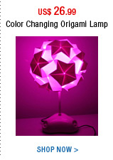 Color Changing Origami Lamp