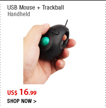 USB Mouse + Trackball