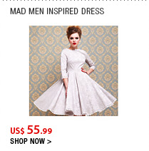 Mad Men Inspired Dress