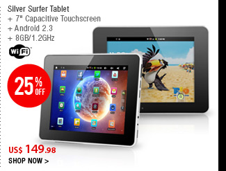 Silver Surfer Tablet