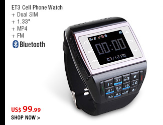 ET3 Cell Phone Watch