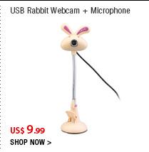 USB Rabbit Webcam + Microphone