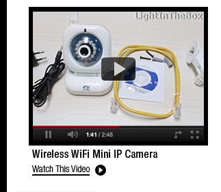 Wireless WiFi Mini IP Camera
