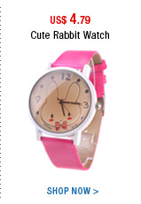 Cute Rabbit Watch
