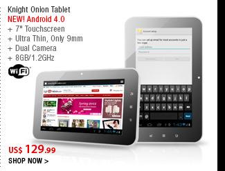 Knight Onion Tablet