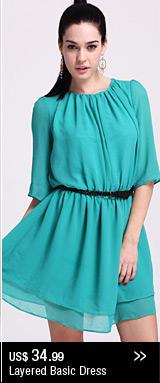 Layered Basic Dress