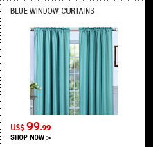 Blue Window Curtains