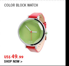 Color Block Watch