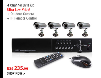 4 Channel DVR Kit