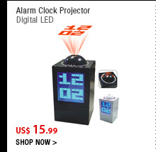 Alarm Clock Projector