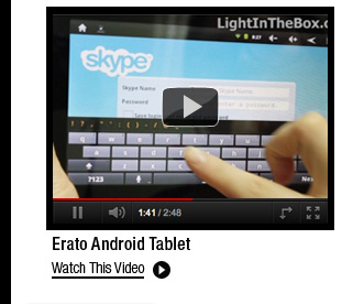 Erato Android Tablet