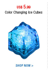 Color Changing Ice Cubes