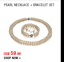 Pearl Necklace + Bracelet Set