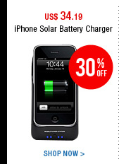 iPhone Solar Battery Charger