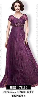 Organza + Beading Dress