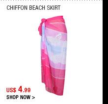 Chiffon Beach Skirt