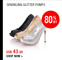 Sparkling Glitter Pumps