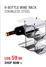 9-Bottle Wine Rack