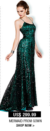 Mermaid Prom Gown
