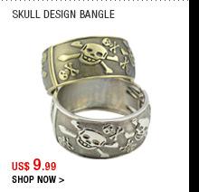 Skull Design Bangle