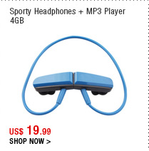 Sporty Headphones + MP3 Player