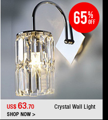 Crystal Wall Light