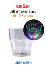 LED Whiskey Glass