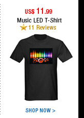 Music LED T-Shirt