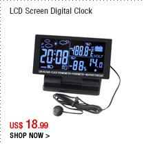 LCD Screen Digital Clock