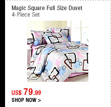 Magic Square Full Size Duvet