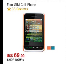 Four SIM Cell Phone