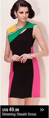 Slimming Sheath Dress