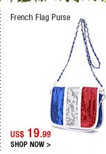 French Flag Purse