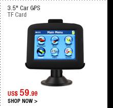 "3.5"" Car GPS"