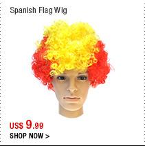 Spanish Flag Wig