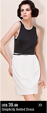 Simplicity Belted Dress