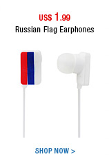 Russia Flag Earphones