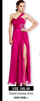 Sheath Evening Dress