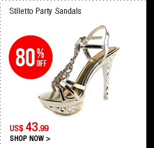 Stiletto Party Sandals