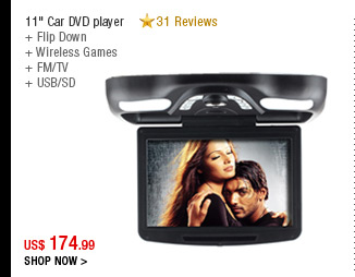 "11"" Car DVD player"