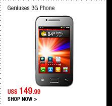 Geniuses 3G Phone