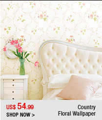 Country Floral Wallpaper