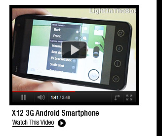 X12 3G Android Smartphone